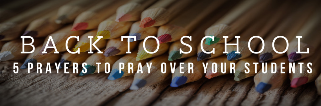 5 student prayers