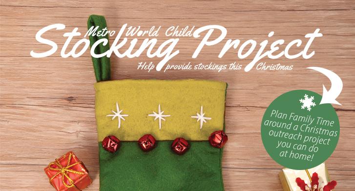 discipleship christmas stocking project discipleship
