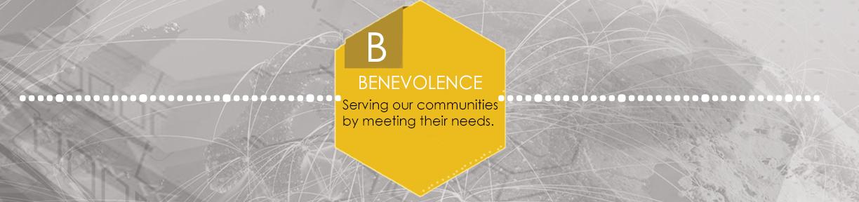 Benevolence banner