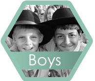 Boys hexagon