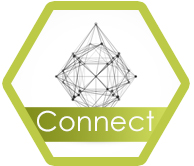 Connect hexagon