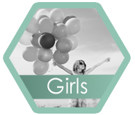 Girls hexagon