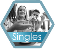 Singles hexagon