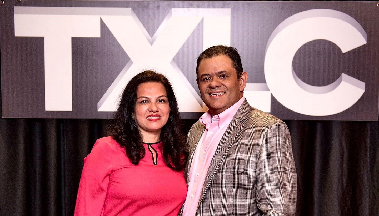 Mario Ayala and wife