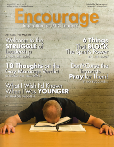 August 2015 Encourage Cover