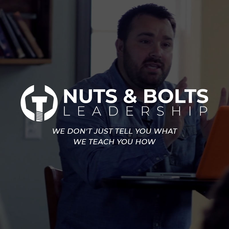 Nuts And Bolts Leadership