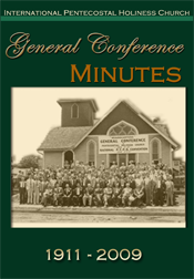 General Conference Minutes Disc Cover