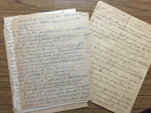 King's-handwriting-sermon-notes