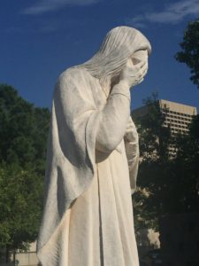 Weeping Jesus Small