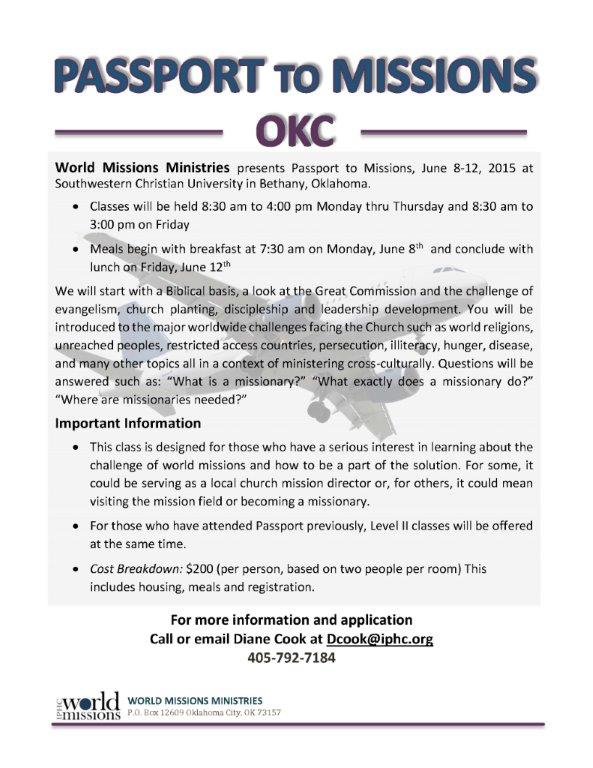 2015 PASSPORT  to missions OKC-Webpg