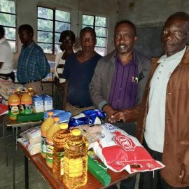 Disaster relief efforts in South Africa