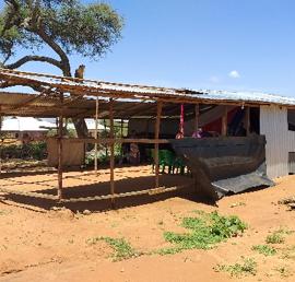 A church building in Tanzania