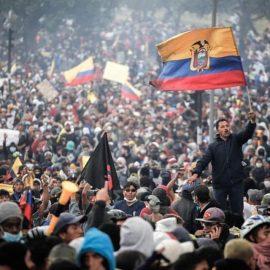 Riots in Quito, Ecuador