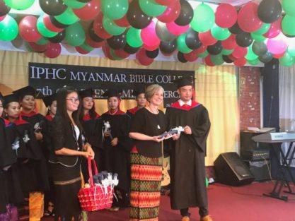 Beth with KL Myanmar SOM Graduation