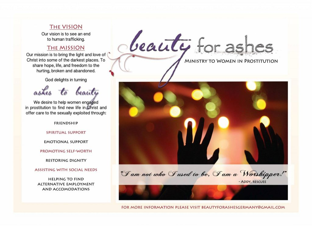 The Beauty for Ashes Invitation