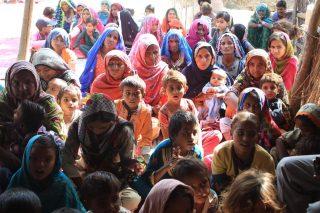 Pakistani Village Church People