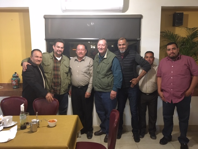 Ron with leaders in Quintin