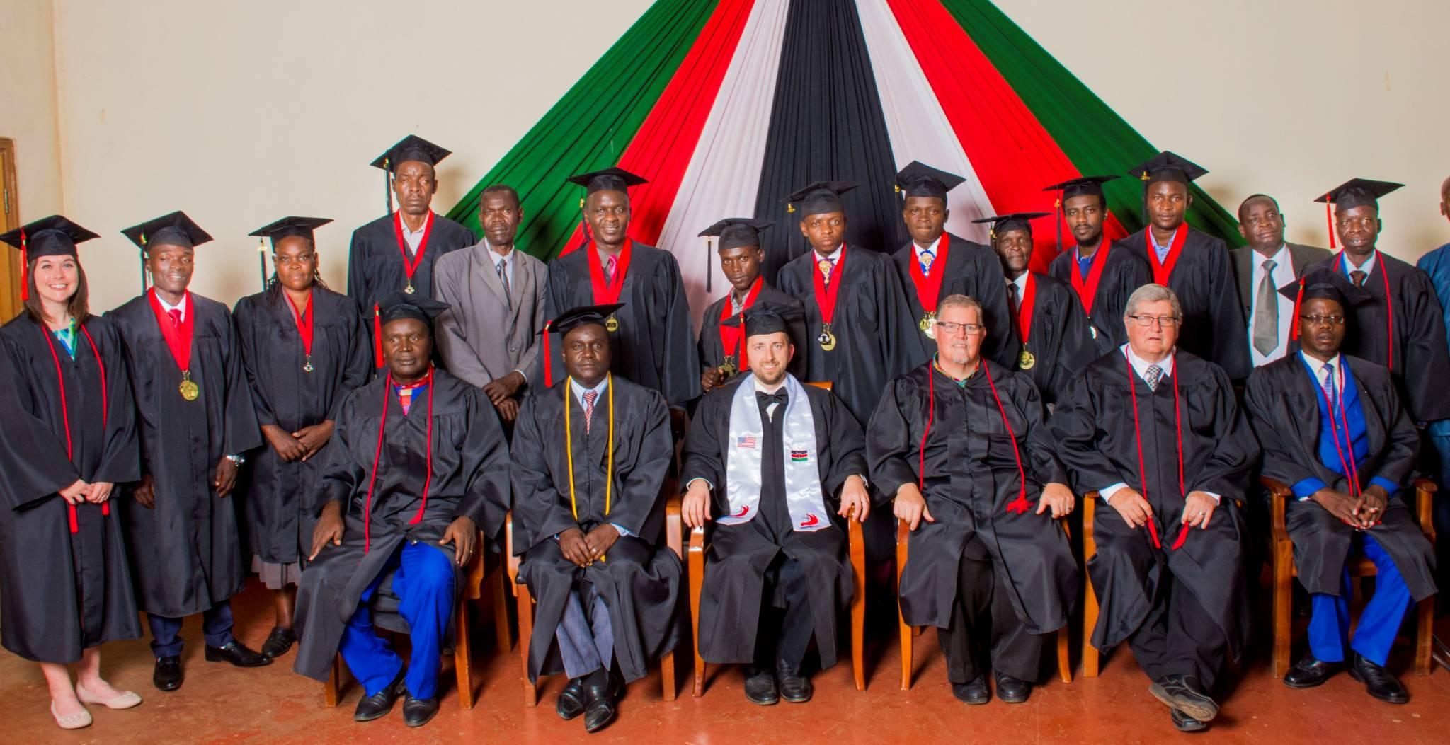Graduates at EABC Graduation