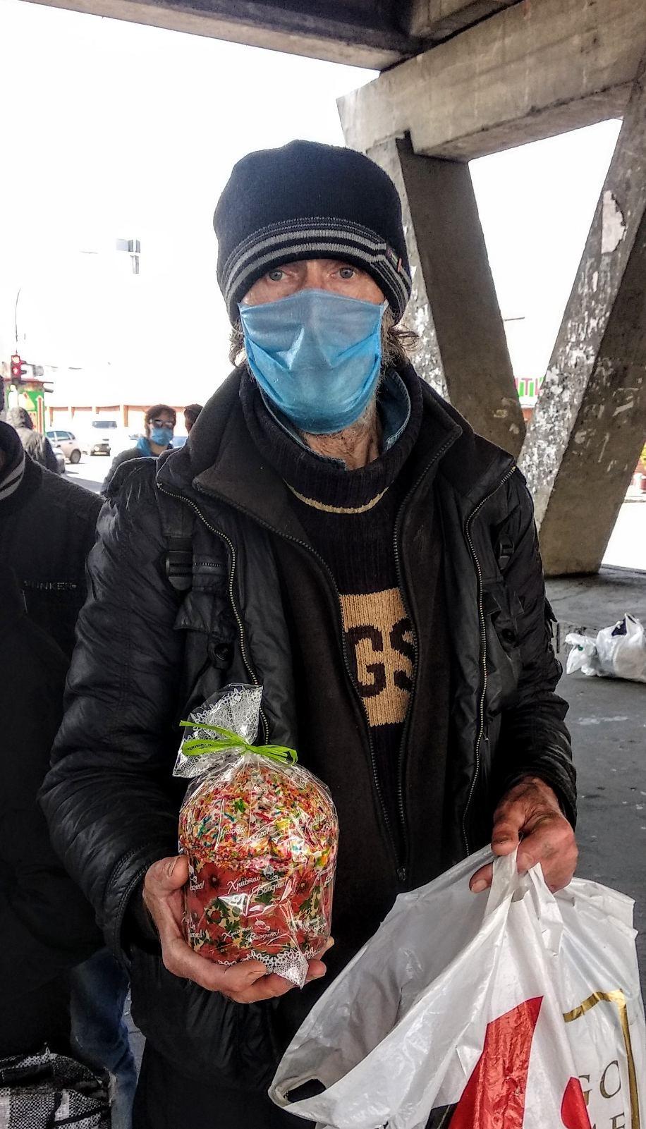 Feeding the Hungry in Kiev, Ukraine