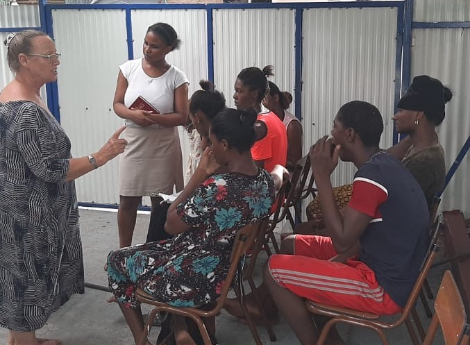 Teacher for slum area