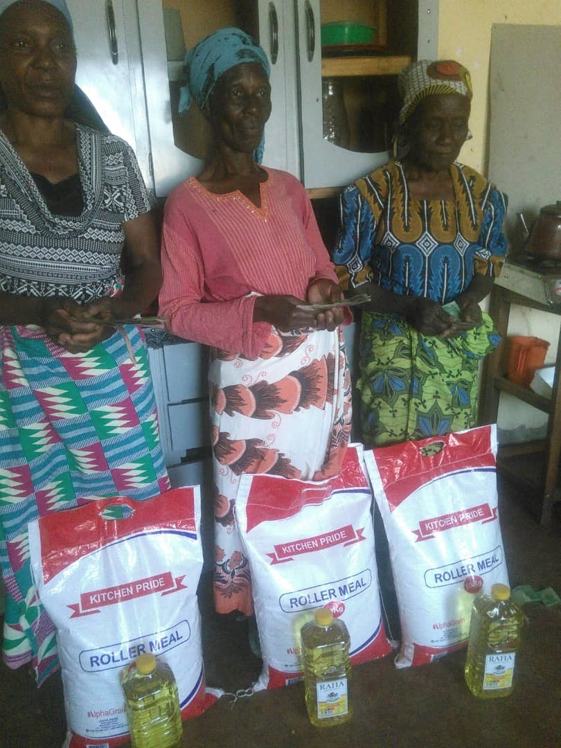 Food relief packages