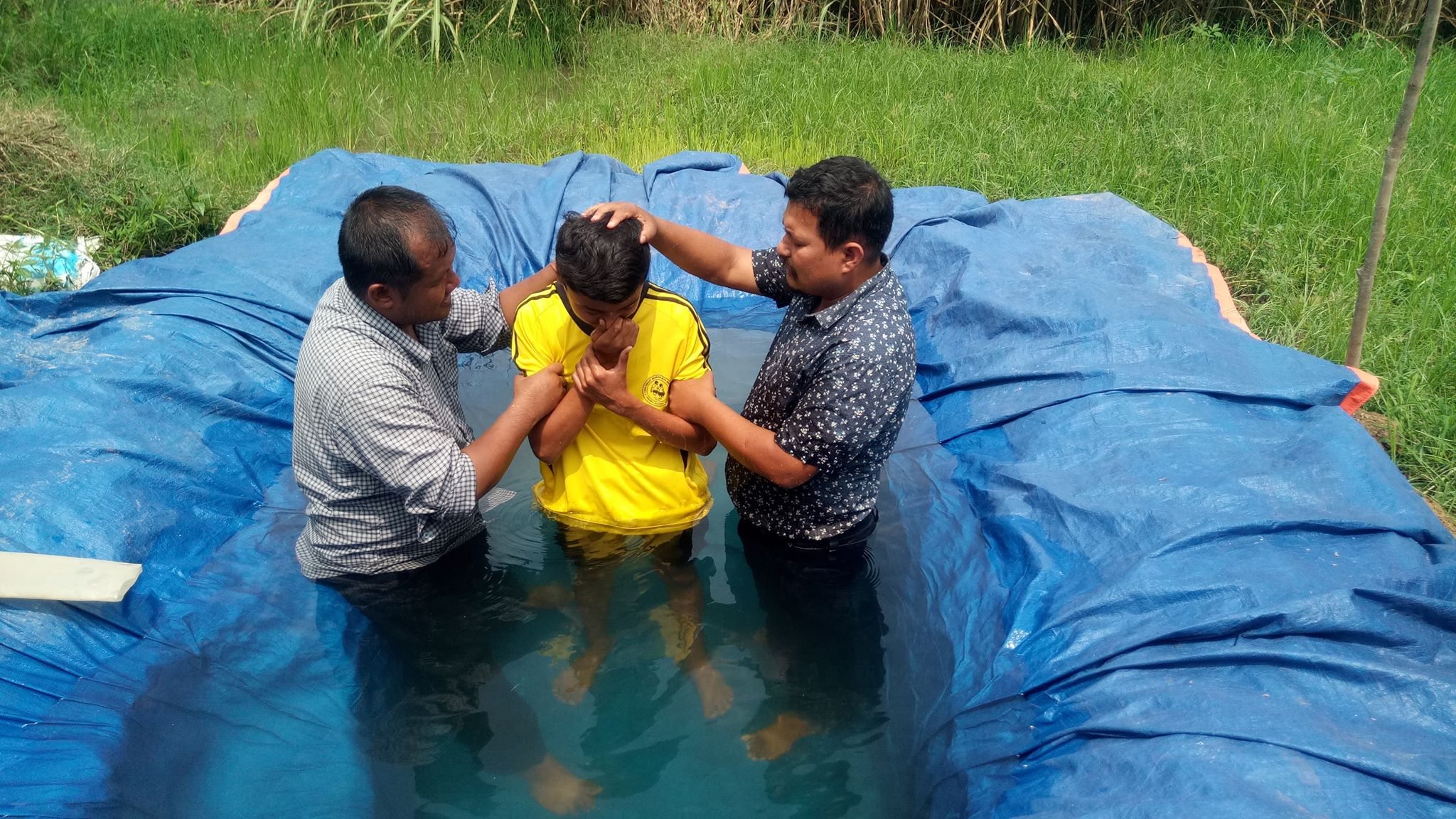 Baptism in Nepal