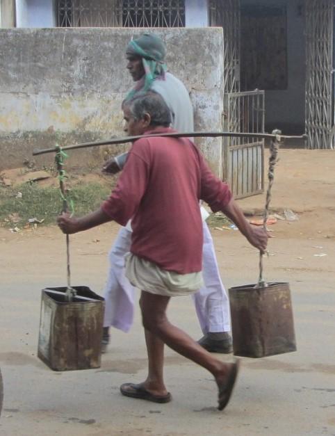 North India Laborer