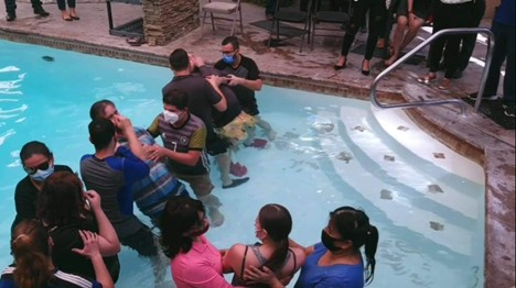 Baptisms in Mexico