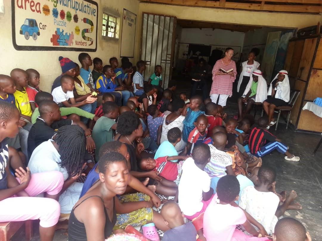 Teaching at Street Kids Program