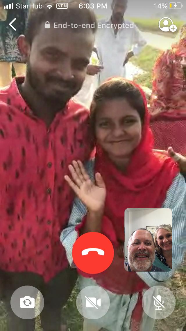 Pakistani Couple to be Baptised