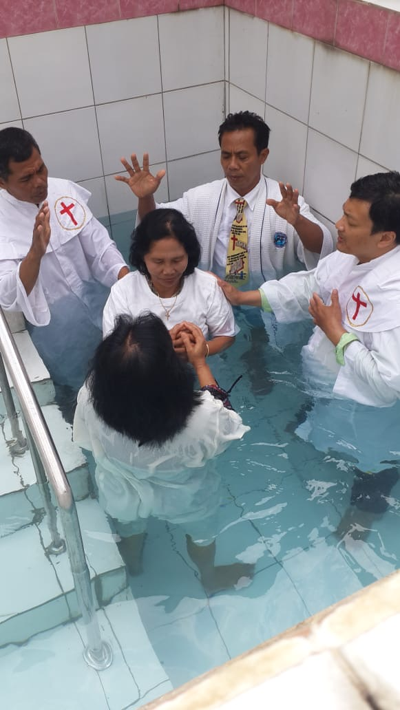 Solo, Indonesia Baptism