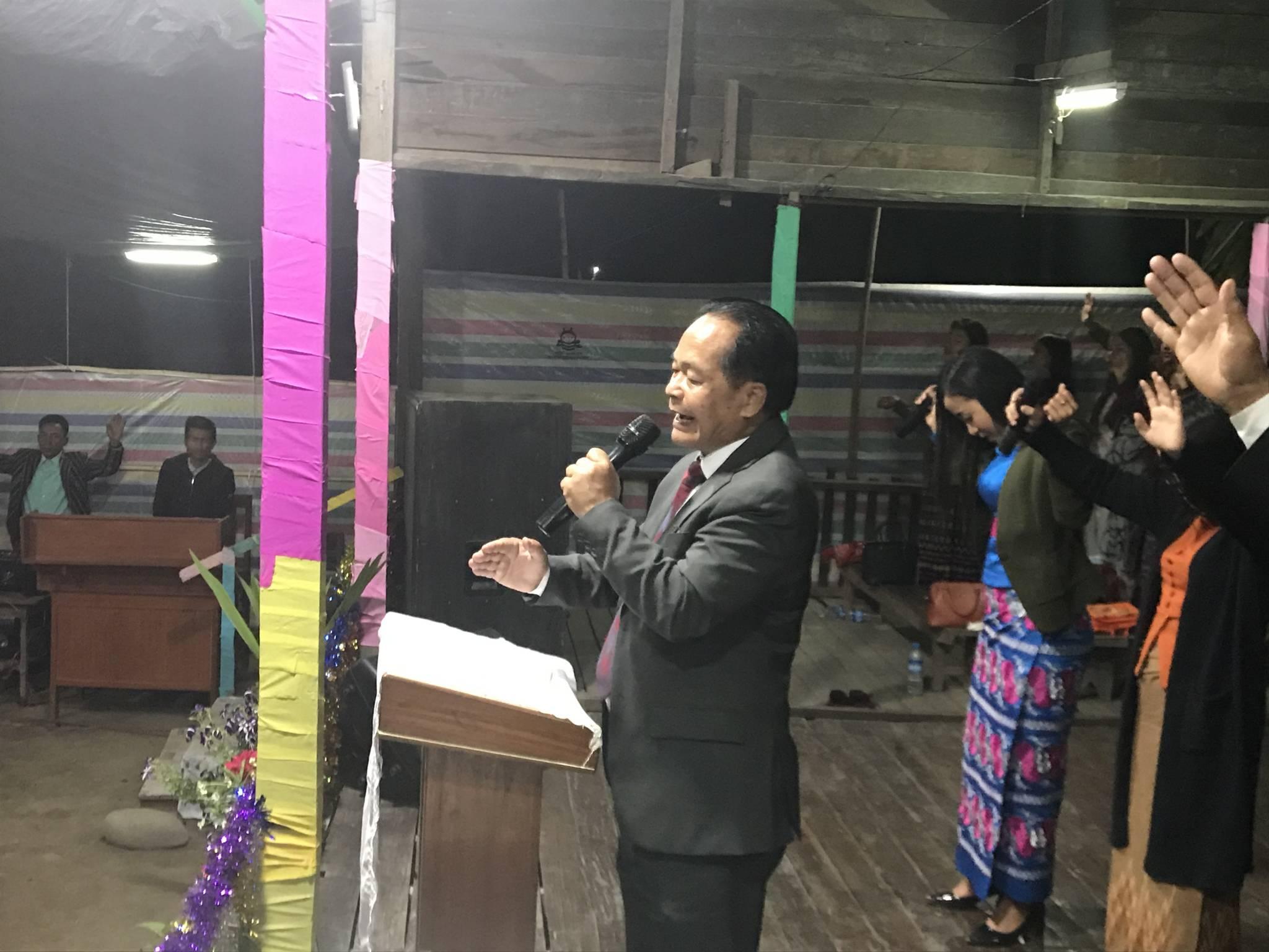 IPHC Myanmar National Leader - Pastor James
