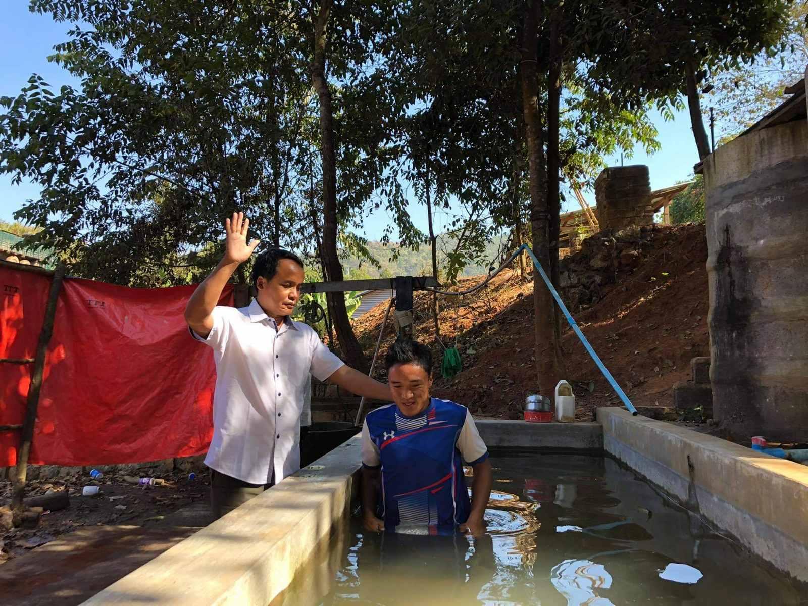 Myanmar Baptisms