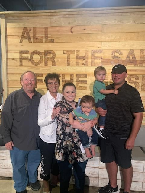 Danny and Judith with Family