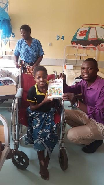 Daniel with Child Patient
