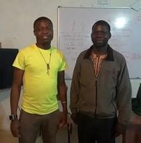 Kaduya and Robert standing together