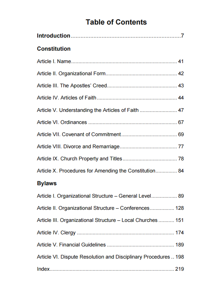 2015 ManuelTable of Contents
