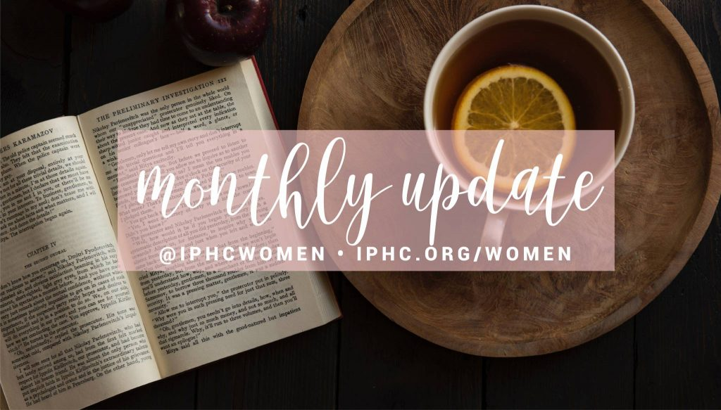 article image for Women's Ministries Monthly Newsletter- September 2021