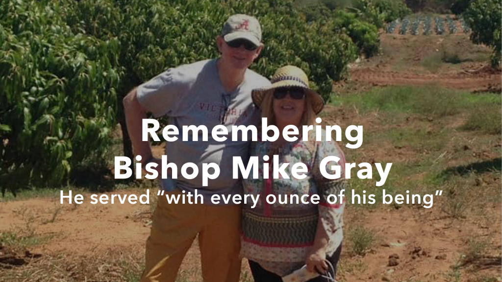 article image for Bishop Mike Gray Served God and the Church